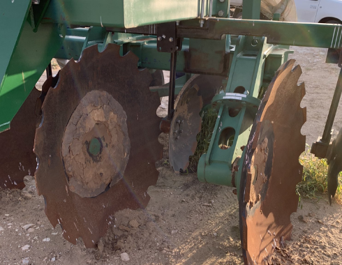 High Work Rate Plough Prototype